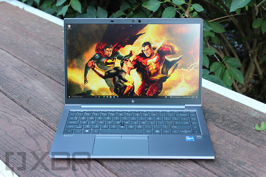 Front view of HP ZBook Firefly G8