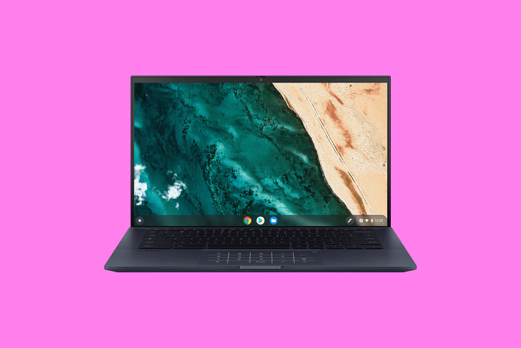 ASUS CX9 on pink background