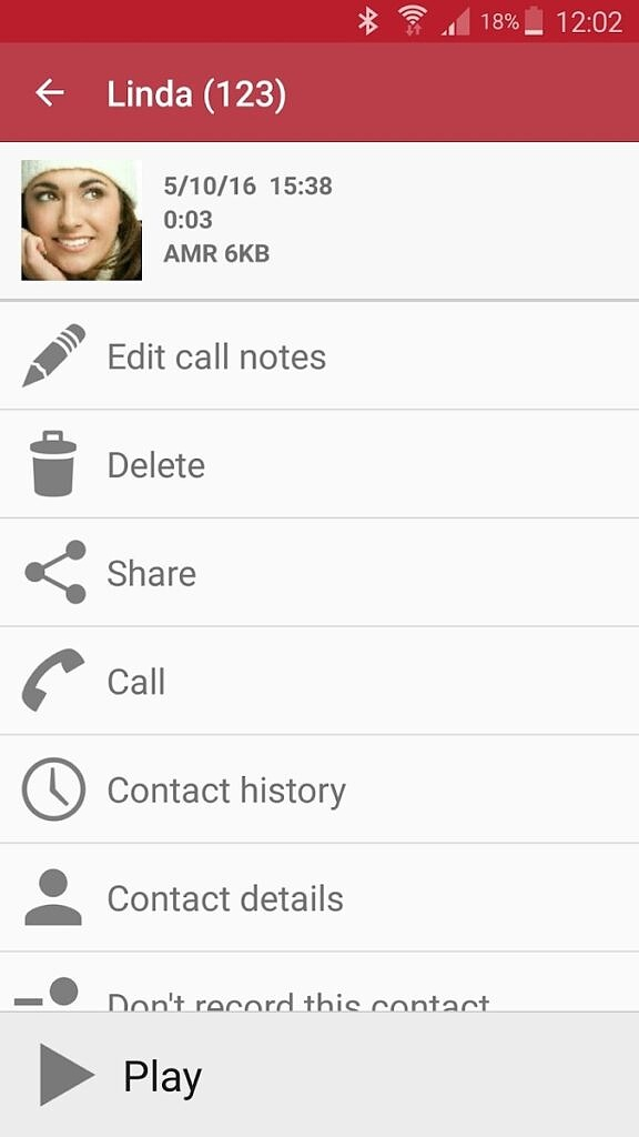 Automatic Call Recorder Options