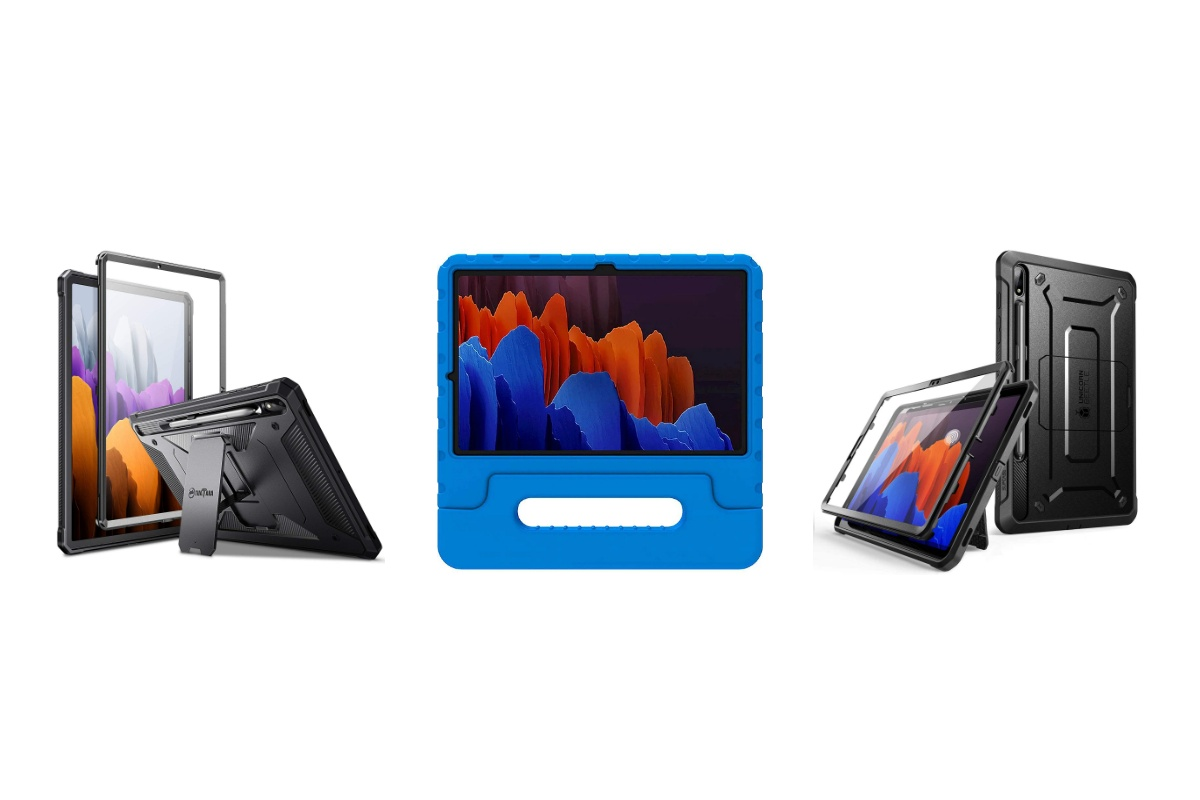 These are the Best Galaxy Tab S7 Plus Cases: Spigen, ProCase, Fintie, and more!