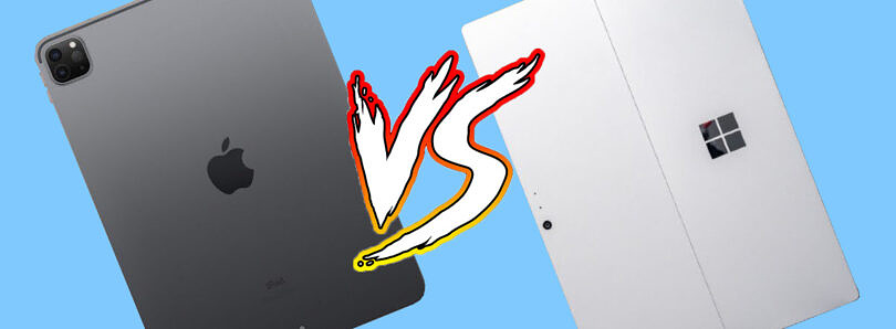 Apple iPad Pro 12.9-inch (M1) vs. Microsoft Surface Pro 7: Which is the best 'Pro' tablet?