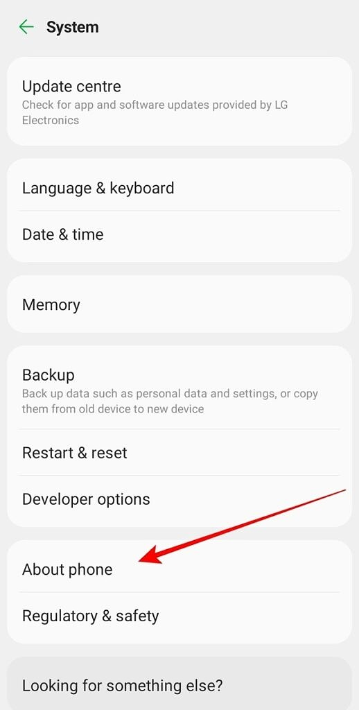 Android System Options