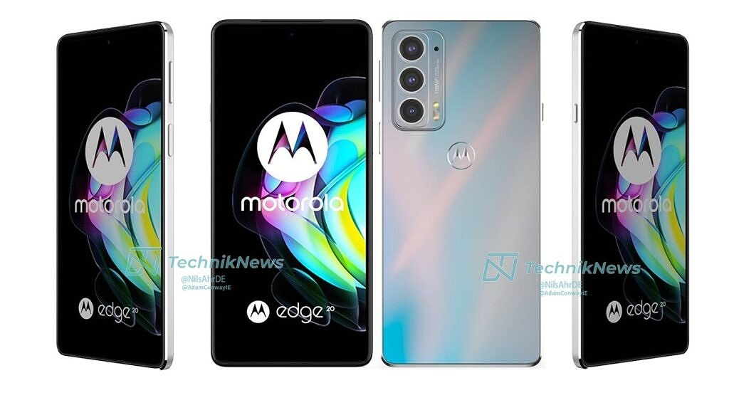 Motorola Edge 20 Pro in Frosted White color