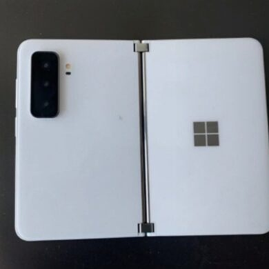Microsoft might be putting a real camera on the Surface Duo 2
