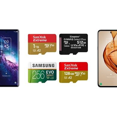 These are the Best MicroSD Cards for the TCL 20 Pro 5G and TCL 20S!