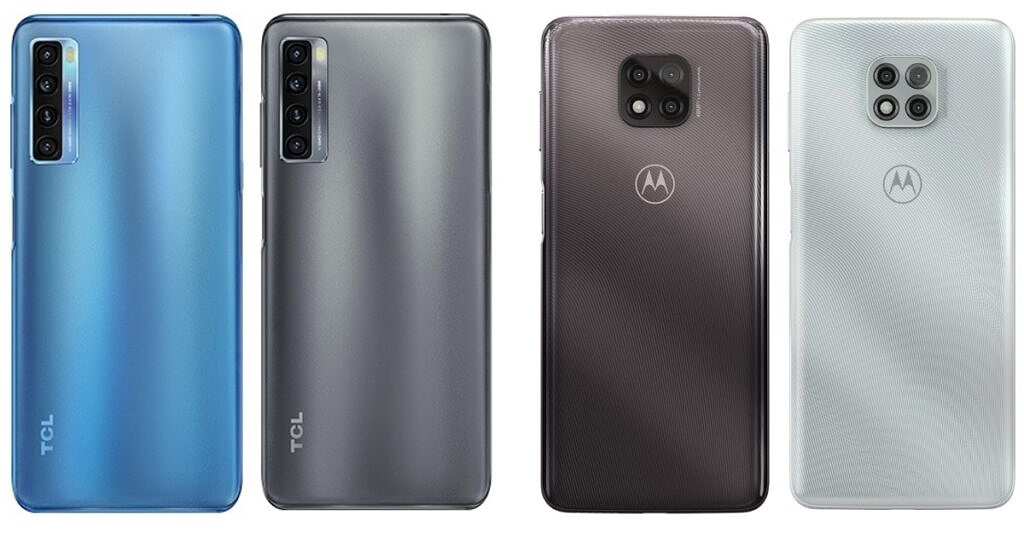 TCL and Motorola colors