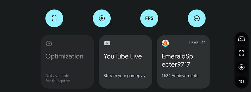 Google Play Games update brings integration with Android 12's Game Dashboard