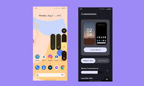 DotOS teases a new Android 12-like theming system for its next release