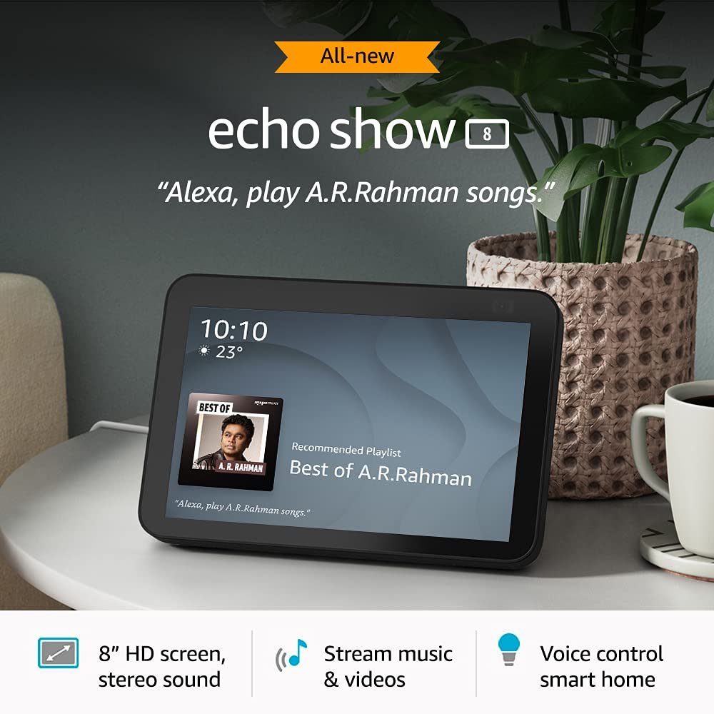 Echo Show 8 Features