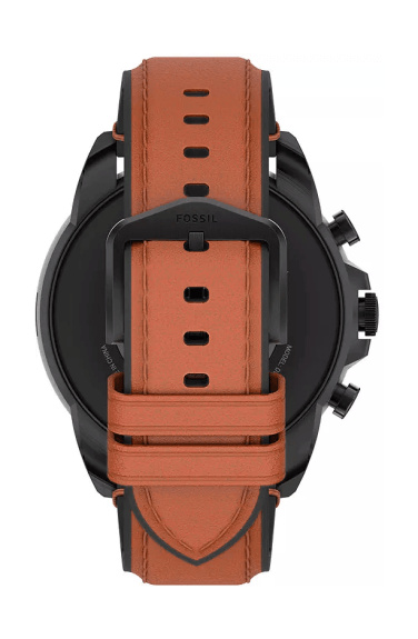 Leather strap of the Fossil Gen 6 smartwatch for men