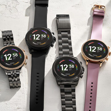 Fossil's new smartwatches have a better processor, faster charging, and newer sensors