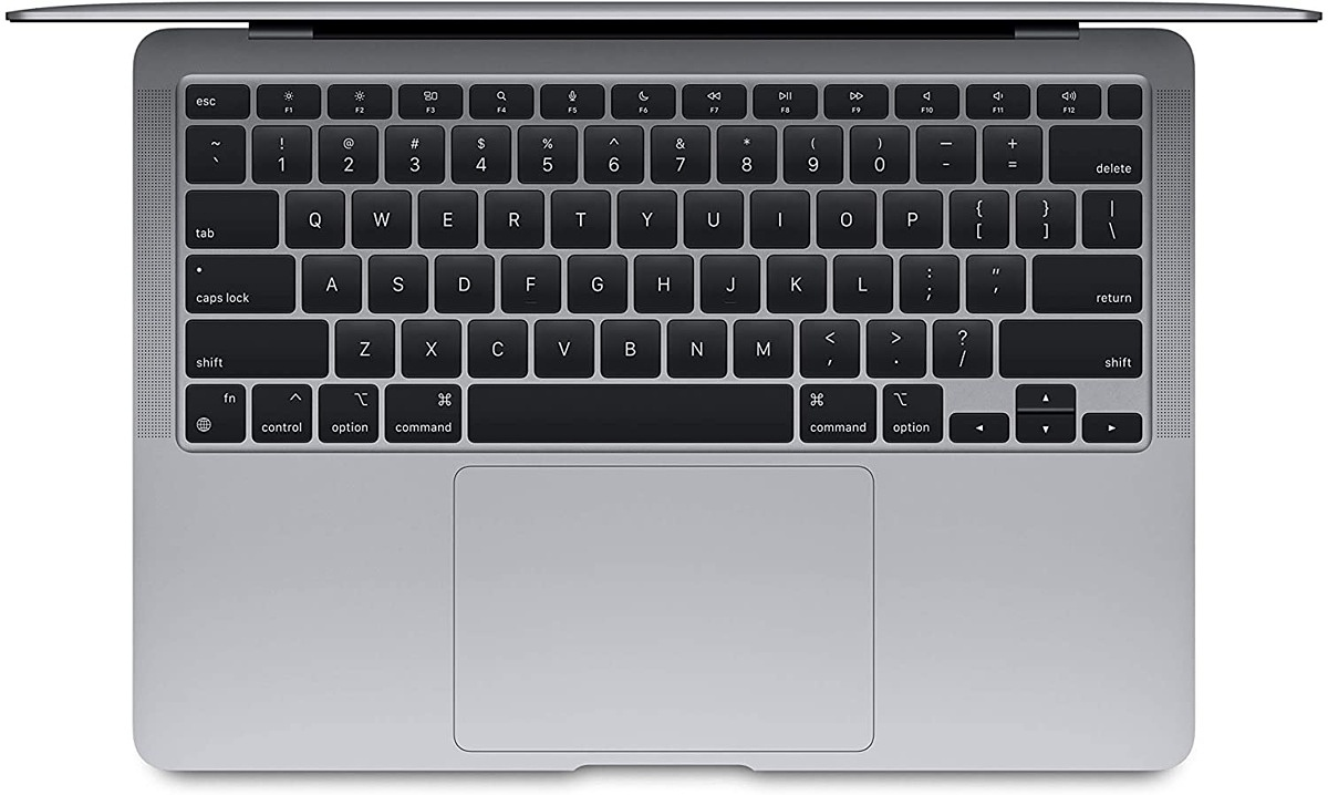 Keyboard with function keys on the MacBook Air
