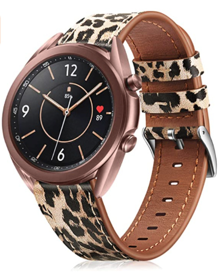 Leopard Leather Band