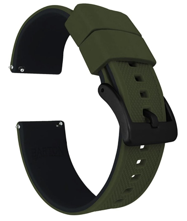 Quick release Silicone band
