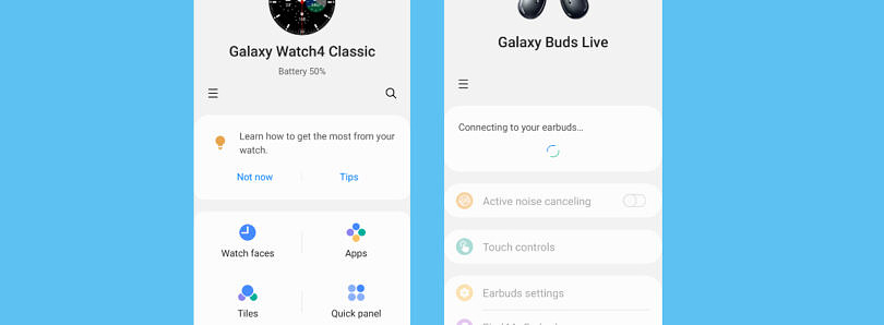 Samsung's Galaxy Wearable app gets a big redesign following the Galaxy Watch 4 launch