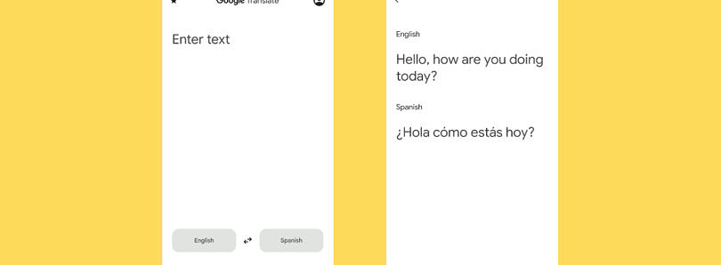 Google Translate is testing a big Material You redesign
