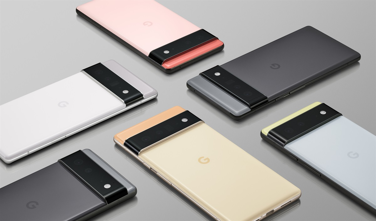 Google teases the Pixel 6 series with its custom Google Tensor chip