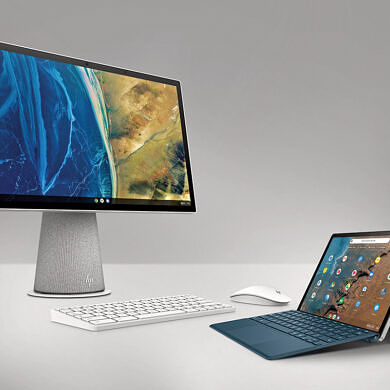 HP unveils a Chrome OS tablet with 4G LTE and a rotating all-in-one