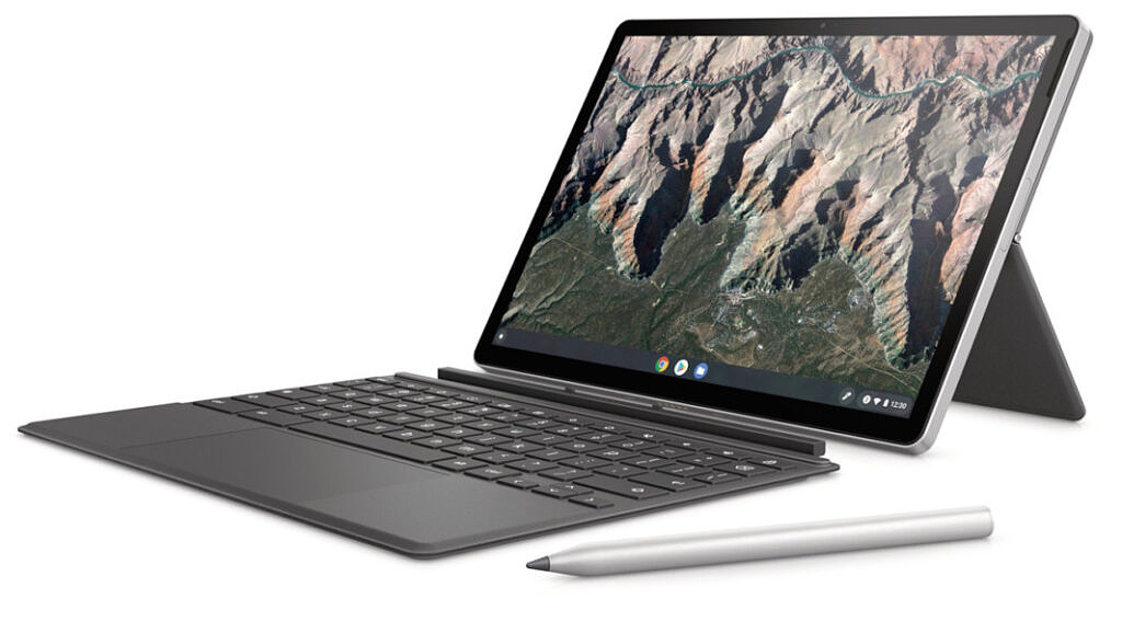 HP Chromebook x2 11 with keyboard and pen
