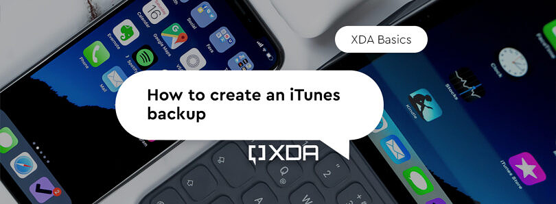 XDA Basics: How to back up your iPhone or iPad with iTunes or Finder