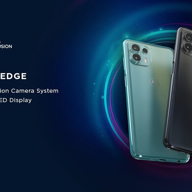 Motorola Edge 20 Fusion joins the Edge lineup as the phones launch in India