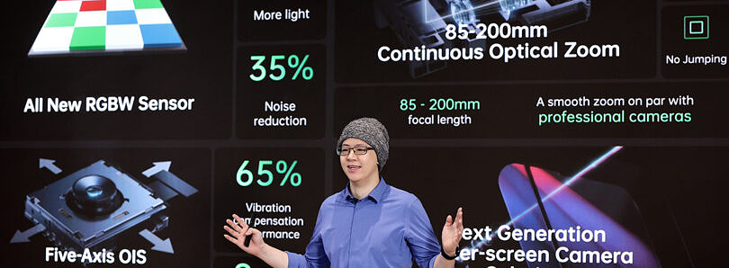 OPPO's new camera sensors promise better colors, continuous zoom, and more stability