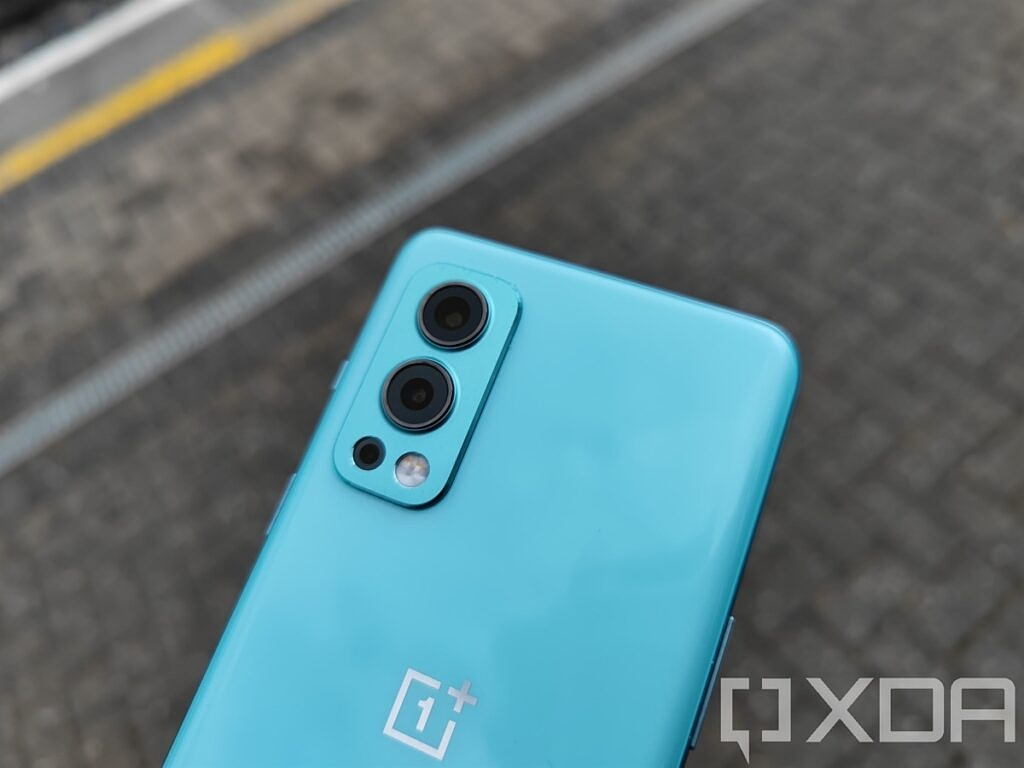 Close up of OnePlus Nord 2