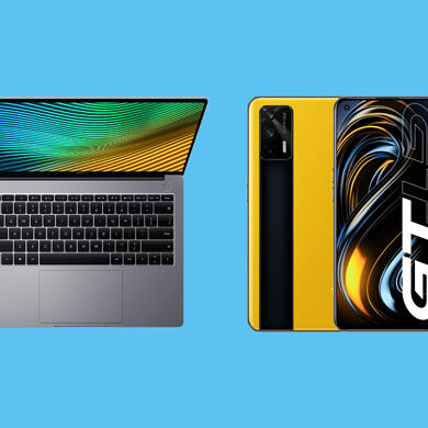 Realme launches its first laptop alongside the Realme GT series in India