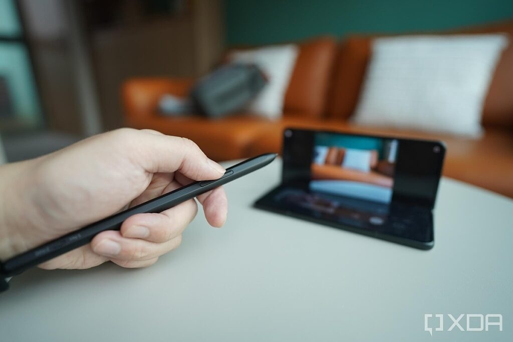 The S Pen Pro with the Fold 3