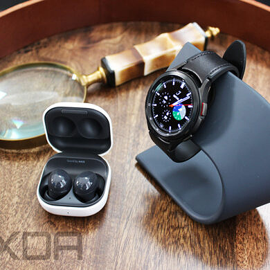 Samsung's Galaxy Watch 4 can now control your Buds 2 while they're connected to your phone