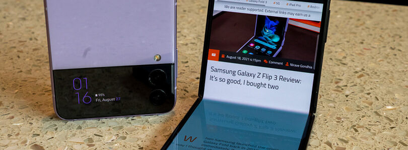 Samsung Galaxy Z Flip 3 Review: It's so good, I bought two