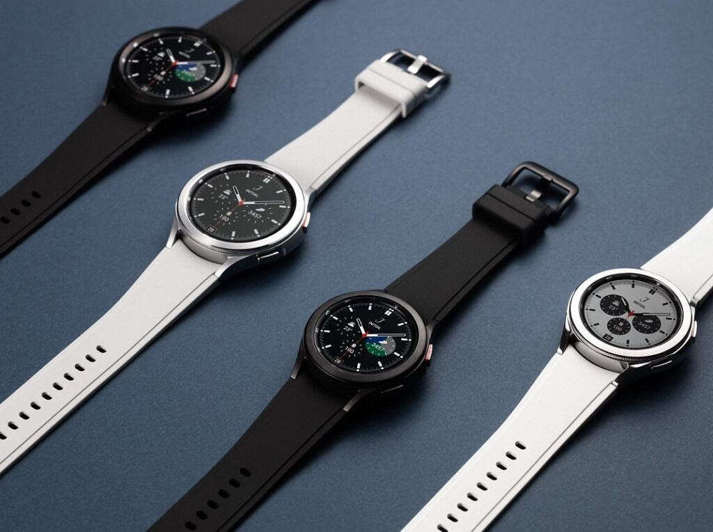 Samsung Galaxy Watch 4 Classic in multiple color bands
