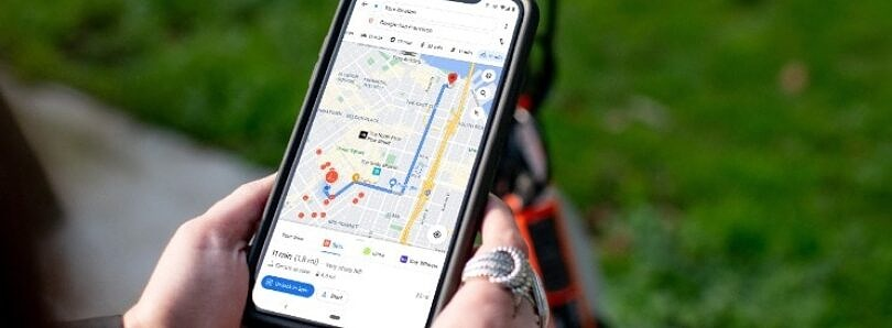 Spin and Bird partner with Google Maps to show nearby electric bikes and scooters