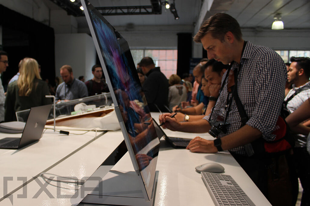 Side view of Surface Studio 2