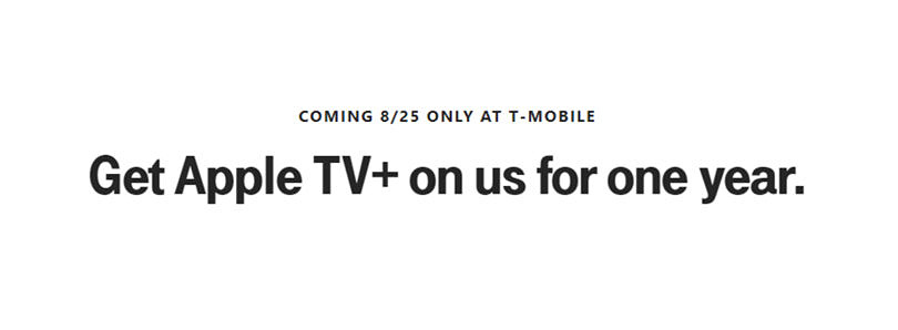 T-Mobile is giving Magenta plan users a free subscription to Apple TV+