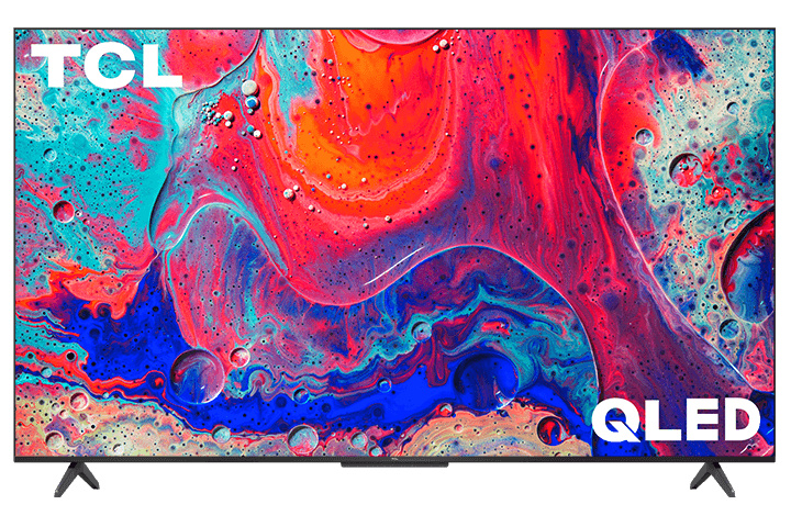 Front view of the TCL 5-series QLED