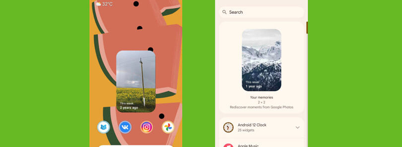 """Google Photos starts rolling out a new """"Memories"""" widget for some users"""