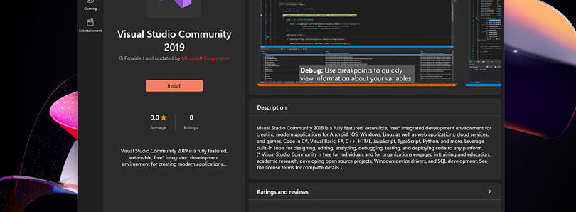 Visual Studio finally shows up on the Microsoft Store in Windows 11