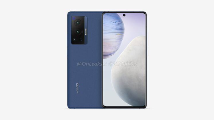 Vivo X70 Pro front and back