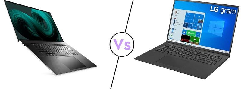 Dell XPS 17 vs LG gram 17: What's the best 17 inch laptop?