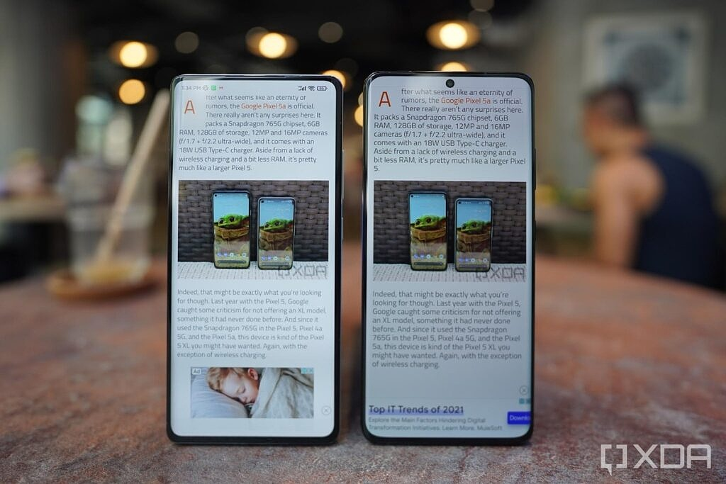 Mi Mix 4 and the S21 Ultra