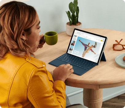 HP x2 11 at kitchen table