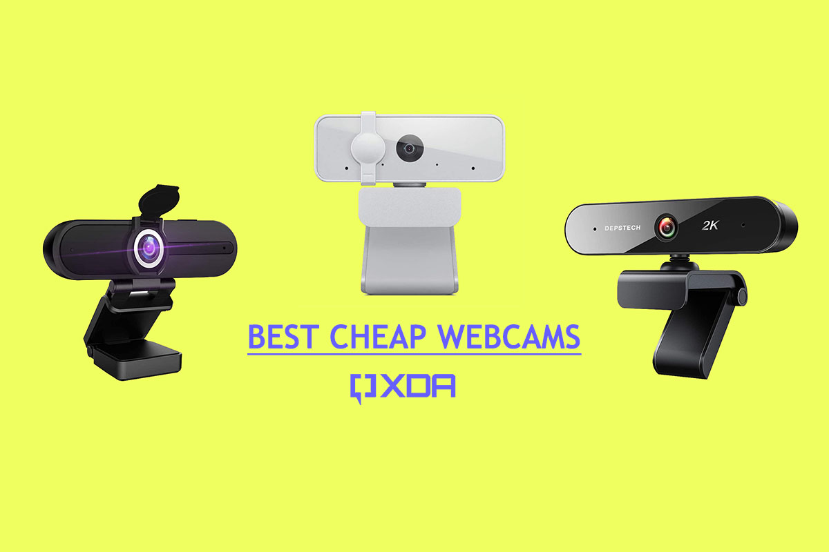 These are the best cheap webcams: Lenovo, Depstech, and more