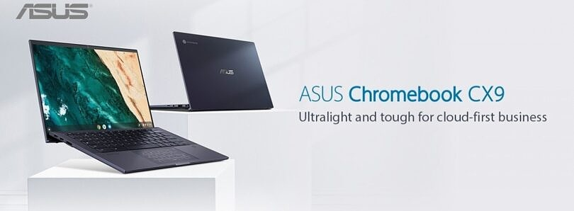 What configurations of the ASUS Chromebook CX9 are available?