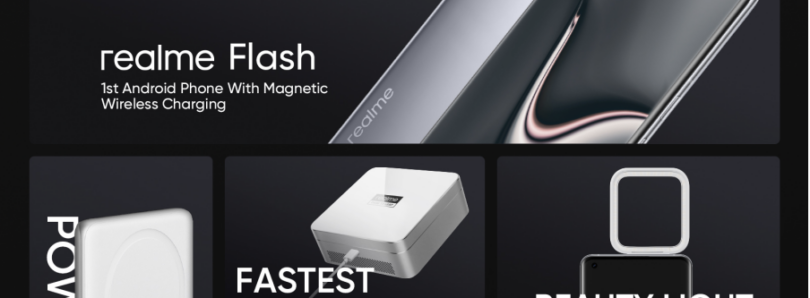 Realme takes on Apple's MagSafe with its MagDart magnetic wireless chargers