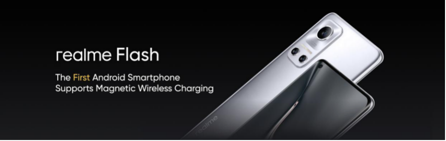 Realme's concept Flash phone with MagDart charging