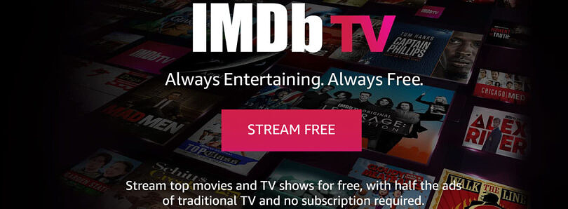 IMDb TV, Amazon's free streaming service, launches in the U.K.
