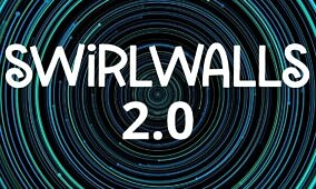 SwirlWalls 2.0 adds more fun with new multilayered wallpapers and Tap-to-Spin feature