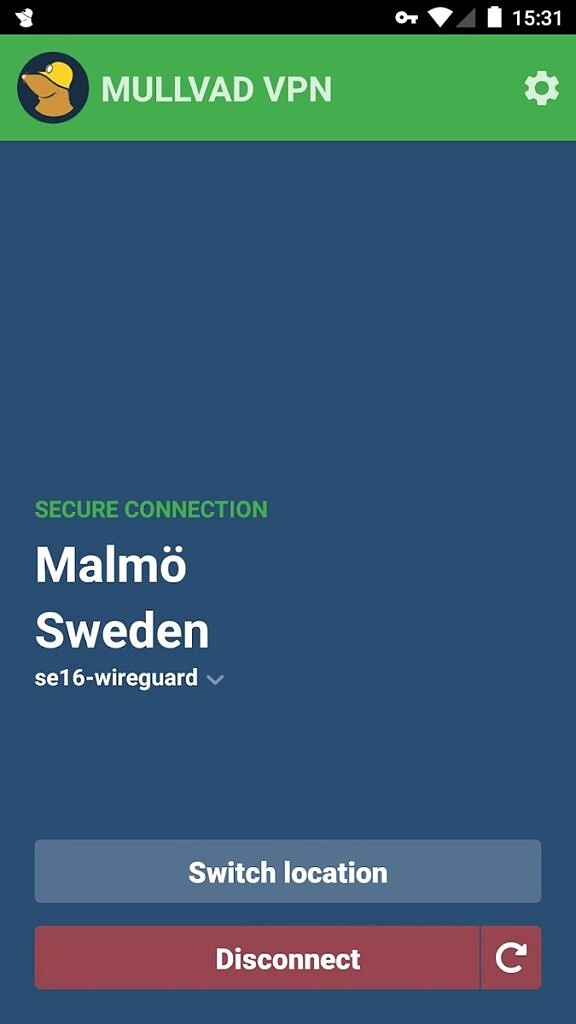 Mullvad VPN for Android