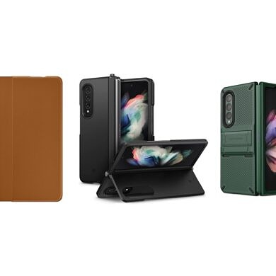 These are the Best Kickstand Cases for the Samsung Galaxy Z Fold 3 in Fall 2021: Spigen, VRS, and more!